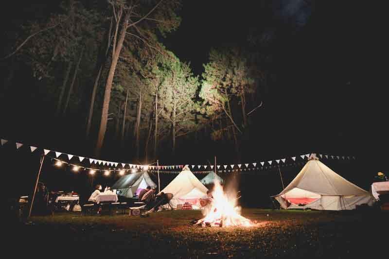 Glamping Camping dekat jakarta bogor