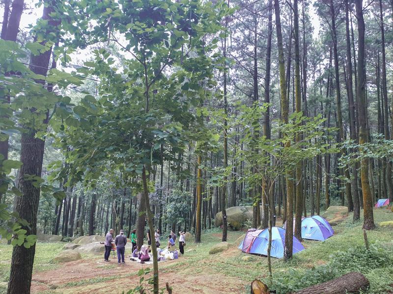 Paket camping di Bogor, Gunung Pancar, Sentul