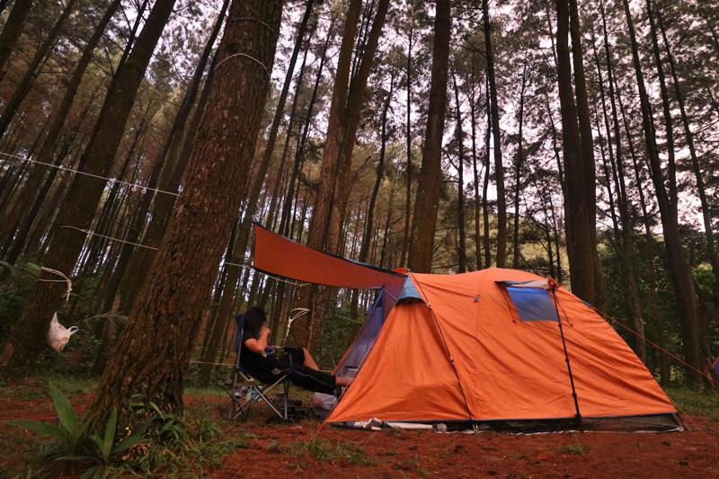 Camping Bogor Gunung Pancar Sentul