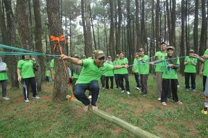 Outbound sentul team building